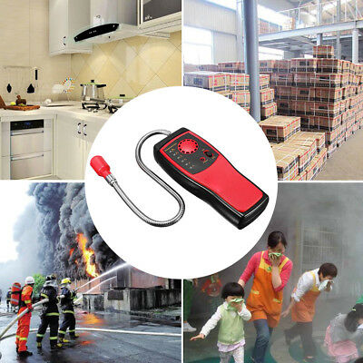 Portable Combustible Gas Detector Leak Methane Tester W Visual Leakage Indicator