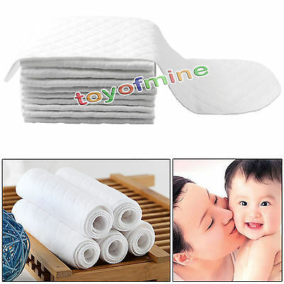 new hot sales 10 pcs Washable Reusable Baby  Cloth Cotton Nappy