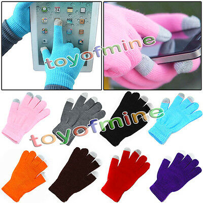 Touch Screen Soft Cotton Winter Gloves Warmer Smartphone Mobile Phone New