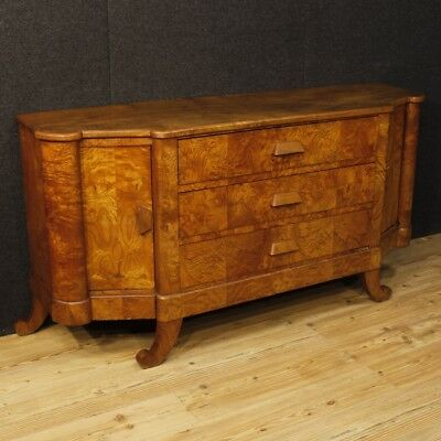 Sideboard art deco furniture credenza french buffet wood cupboard antique style