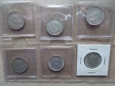 King George VI Great Britain coins