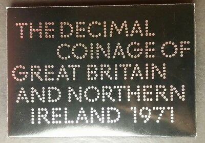 1971 Great Britain and Northern Ireland Proof Set of (Decimal) Coins