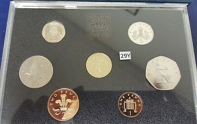 United Kingdom Proof Coin Collection 1987-7 Coins