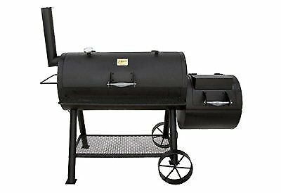 New Charbroil  Oklahoma Joe's Longhorn Offset Smoker and Charcoal Grill