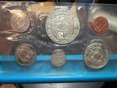1969 - Panama - 6 Coin Proof Set with Silver (#2)
