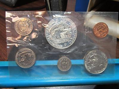 1972 - Panama - 6 Coin Proof Set with Silver (#1)