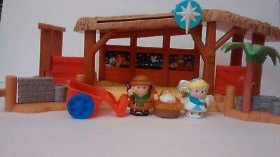 Fisher Price little people nativity lot of 7