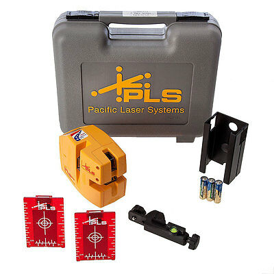 Pacific Laser Systems PLS-480 Laser Alignment System Kit with Carrying Case