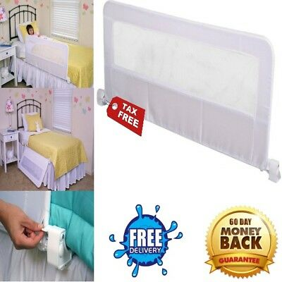 Bed Queen King Size Long Bracket Rail Bumper For Adult Kids Crib Guard Safety