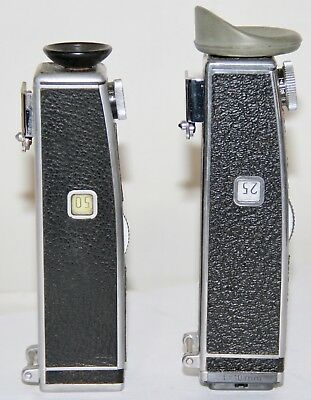 2x Bolex Side Mounted Multi Viewfinders For 16mm Cameras