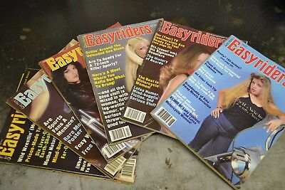 1982 Easyriders Magazines January February March April May June