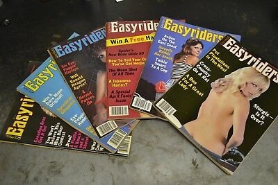 1983 Easyriders Magazines January February March April May June