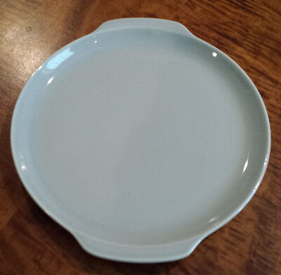 Vintage Universal Ballerina Dove Gray Round Serving Platter Union Made in U.S.A