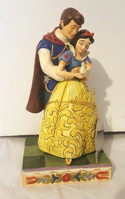 Jim Shore Snow White And Prince Charming Someday Is Today Disney Figurine