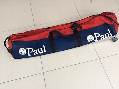 """Leon Paul Fencing Bag With Wheels, Red, with """"Starter Kit"""" option in Buy It Now"""