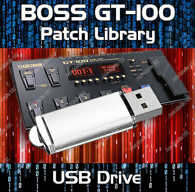 Boss Gt-100 Pre-Programmed Tone Patches Download 5,500+ Guitar Effects Pedals