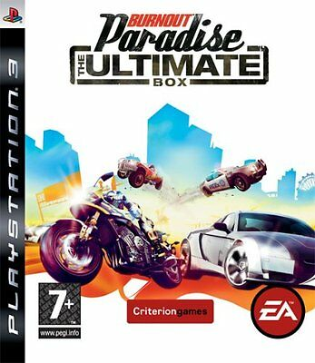 PS3 GAME BURNOUT PARADISE - The Ultimate Box NEW