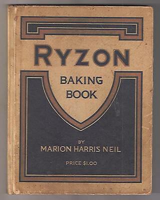 1916 Ryzon Baking Book Advertising Cookbook Marion Harris Neil General Chemical