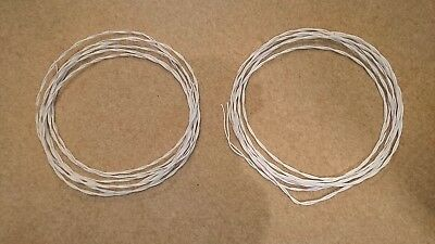 NOS PTFE 16AWG *3C Silver plated Wire power speaker cable 2meter//6.56ft