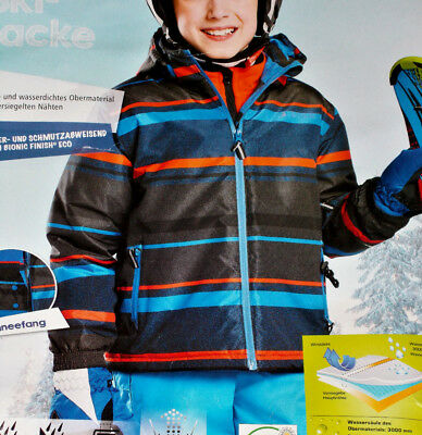 jungen schneejacke blau orange t rkis jacke kinder ean012 eur 3 99 picclick de. Black Bedroom Furniture Sets. Home Design Ideas