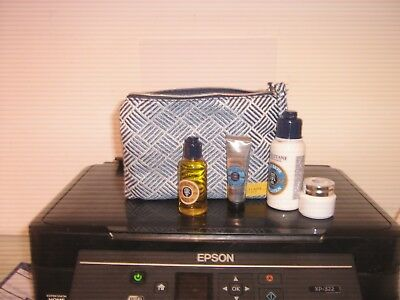 L'occitane  Gift Bag Blue With Various Products