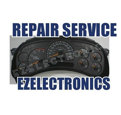 2003 avalanche instrument cluster repair