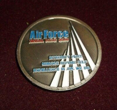 Air Force International Credit Union Day Challenge Coin MINT in Original Pack