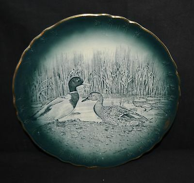 ThriftCHI ~ Buffalo Pottery 1907 No.1320 Mallard Duck Collectors Plate