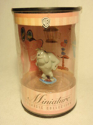 "WB Warner Bros Miniature Classic Collection Granny Dog ""Spike"" Figurine"