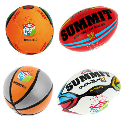 Summit Kids Sport Soft Ball/Indoor/Outdoor/Child/Toddler/Toy/Footy/Soccer/Rugby