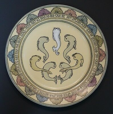 Mary Bacon Jones The Jungle Book Folk Design Plate for Guerin Limoges - I