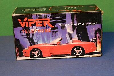Collectible Vintage Dodge Viper RT 10 Telephone Rare Hard to Find New