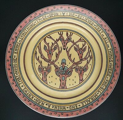 Mary Bacon Jones The Jungle Book Folk Design Plate for Guerin Limoges - K