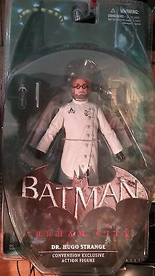 DC Direct Collectibles Arkham City DR. HUGO STRANGE Action Figure SDCC Exclusive