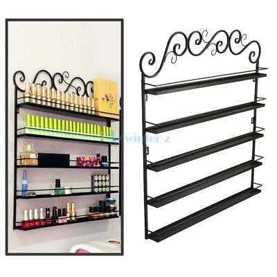 Halloween Metal Wall Mounted 5 Tier Nail Polish Rack Organizer Display Shelf UK