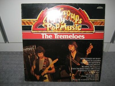 """LP The Tremeloes """"Top Groups of Pop Music"""" (Memory)"""