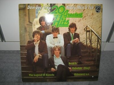 """LP Dave Dee, Dozy, Beaky, Mick & Tich """"20 Greatest Hits"""" (Philips)"""