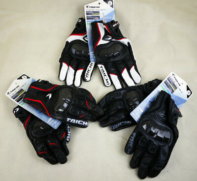 New RST390 Mens Gloves RS Taichi Perforated leather Motorcycle Mesh