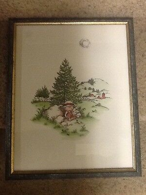 """Joan Walsh Anglund 1960 Framed Print 11"""" X 14"""" Love Is A Special Way Of Feeling"""