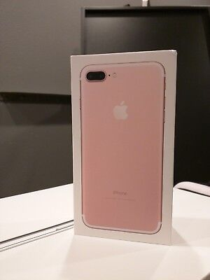 Original Apple iPhone 7 Plus - 128GB Rose Gold, BOX ONLY