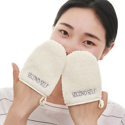 Microfiber Facial Cloth Face Towel Makeup Remover Cleansing Glove Tool FT