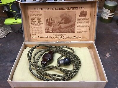 1920S Electric Blanket rare working