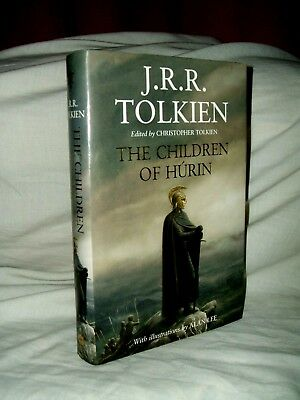 J R R Tolkien - The Children Of Hurin - First / First Edition - Hardback - New