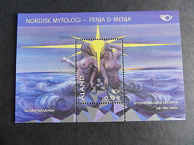 Aland 2004 Nordic Mythology MS250 miniature sheet MNH UM unmounted mint