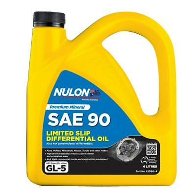 Nulon SAE 90 Limited Slip Differential Oil 4L LSD90-4 Free Shipping!