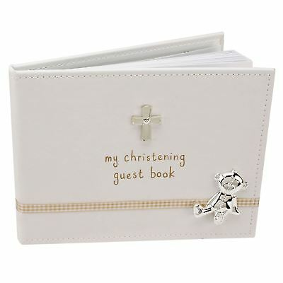 """Button Corner """"My Christening Guest Book"""" - 40 pages"""
