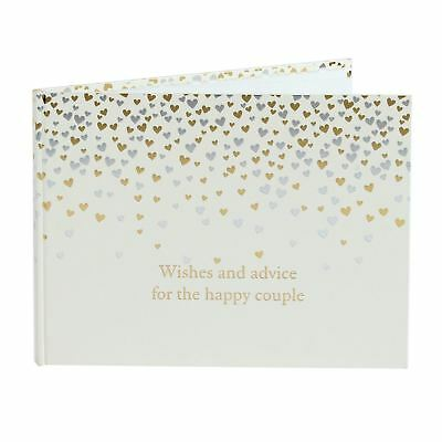 Amore Little Hearts Guest Book 40 pages