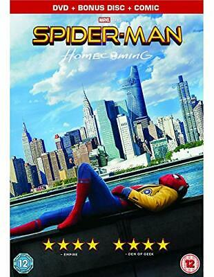 Spider-Man Homecoming [Limited Edition DVD + Comic] [2017] - DVD  X1VG The Cheap