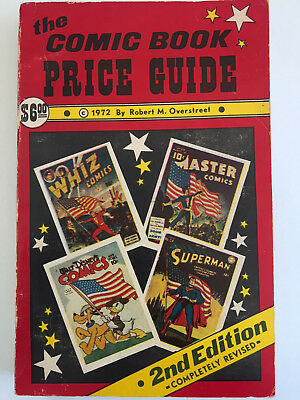 Overstreet 2nd Edition 1972 Comic Book Price Guide - GOOD CONDITION