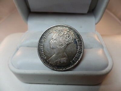 Great Britain Gothic Florin 1872 Almost Uncirculated # C 1213